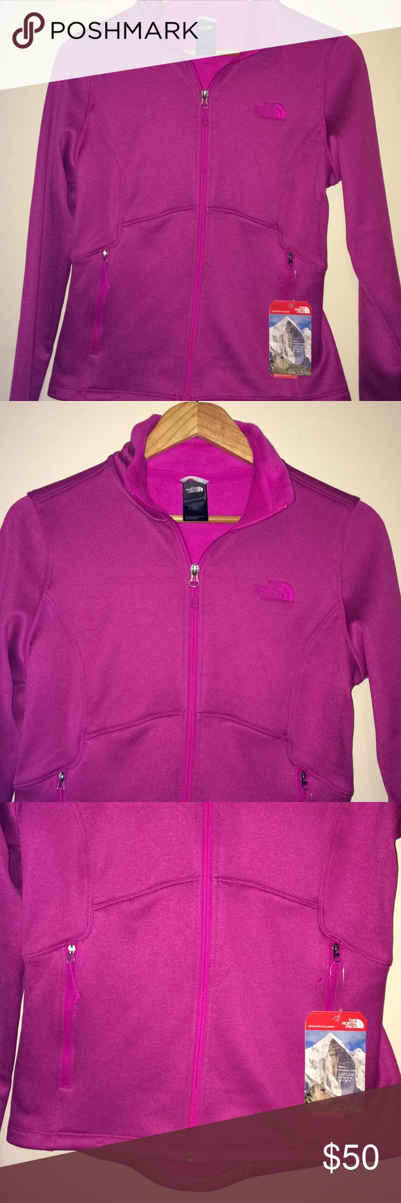 fdd881d93 The North Face Full Zip Sweater NWT The North Face full zip sweater ...
