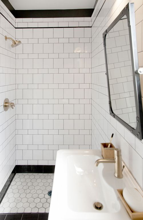 I Like The Tile Pattern And That Surprises Me Usually I Like Just Plain Old Subway Tile Bathroom Trends Bathroom Inspiration Bathroom Trends 2017