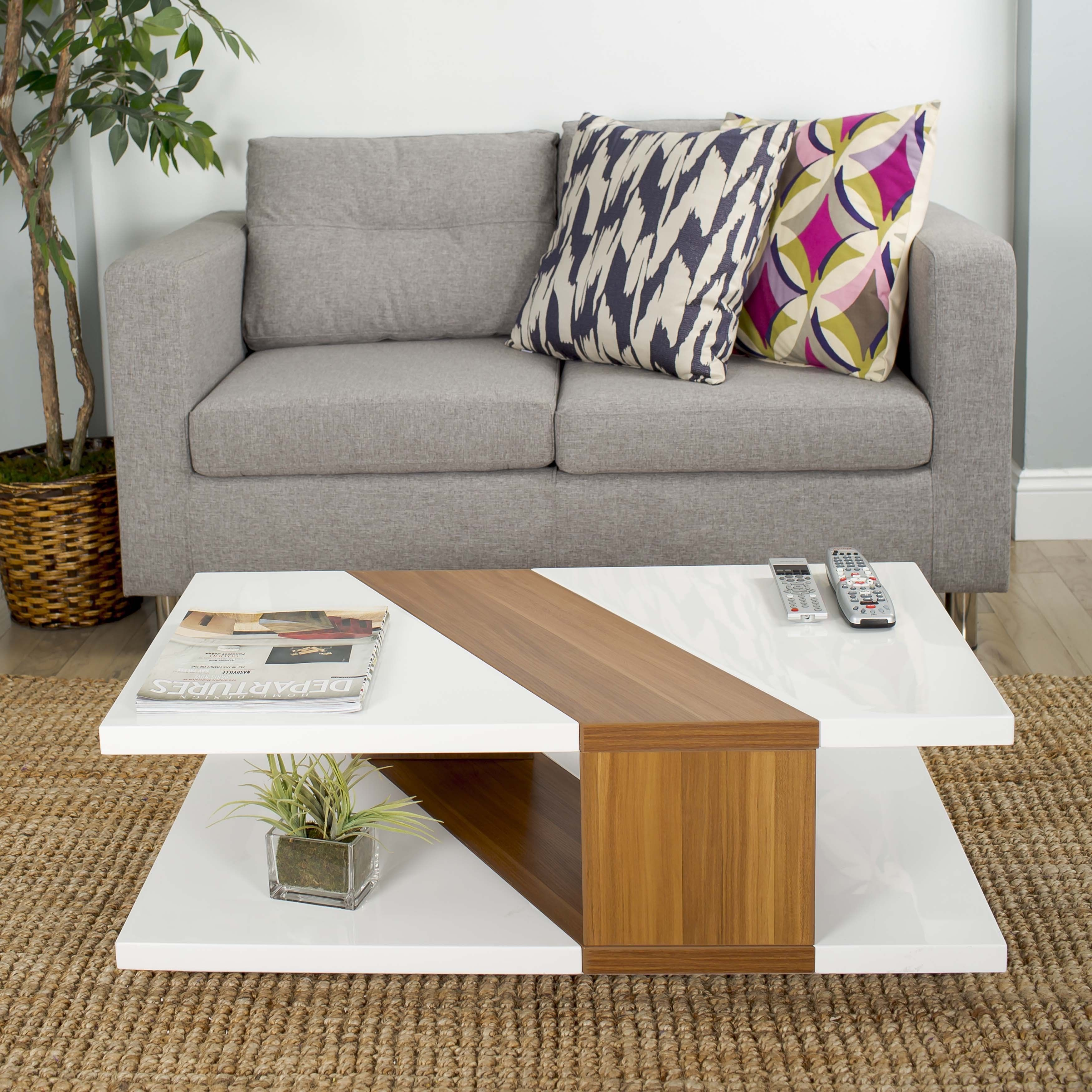Couchtisch Bianca Jazz Up Your Home With This Sleek Modern Bianca Coffee Table With