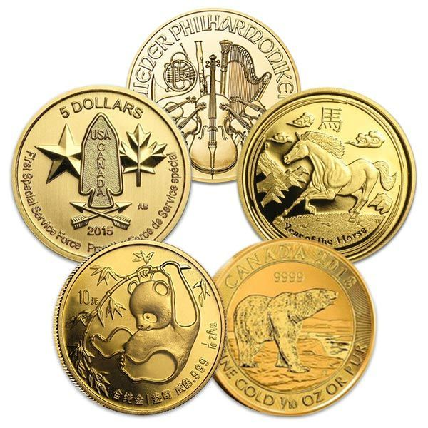 1 10 Oz Gold Fractional Coins The 1 10 Oz Size Also Fits Great In A Barter Stash Of Metal Where Having A Range Of Sizes And Values Will Make It Ea Coin Design
