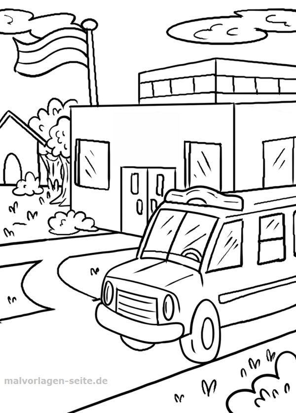 Malvorlage Schule Schulbus | Malvorlagen - Ausmalbilder | Pinterest ...