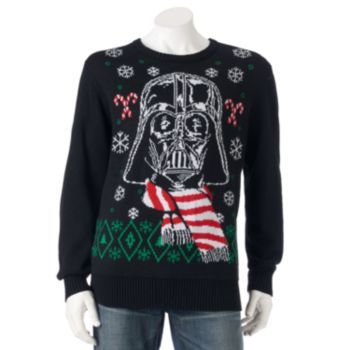 Star Wars Darth Vader Holiday Sweater - Men