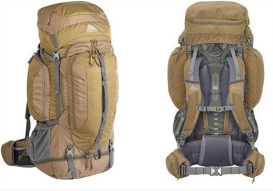 Backpacking backpack