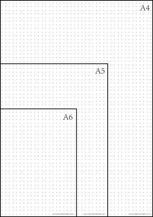 photograph regarding A5 Dot Grid Printable identify Absolutely free Printable Dot Grid Paper for Bullet Magazine