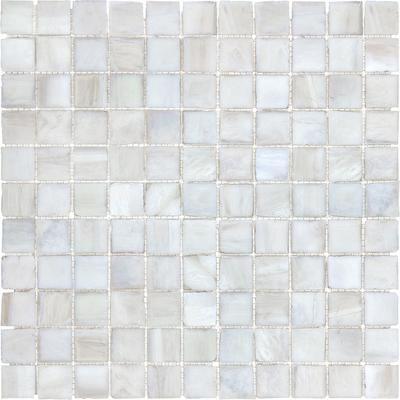 Idea Anatolia 1 Inchx1 Inch Perfect Pearl Glass Mosaics 20 615 Home Depot Canada 5 09 Tile Backsplash Bathroom Pearl Tile Mosaic Glass