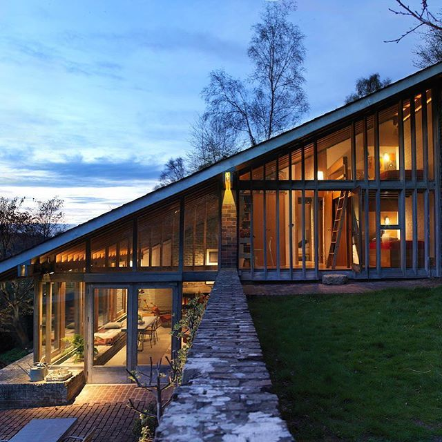 ✨Ansty Plum House + Studio in rural Wiltshire by Coppin Dockray Location: Ansty, Salisbury, Wiltshire, #England