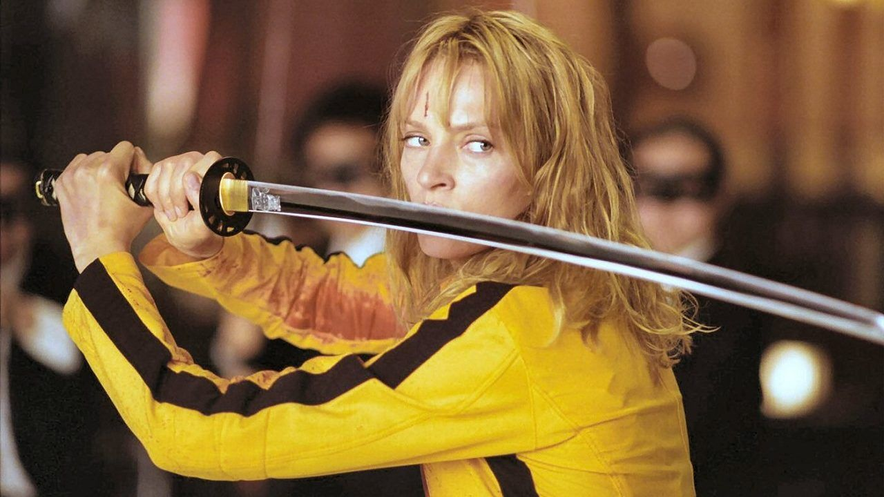 "The Bride from Kill Bill (2003) | I love ""The Bride"", she took down Oren's ""Crazy 88"" (all by herself)."