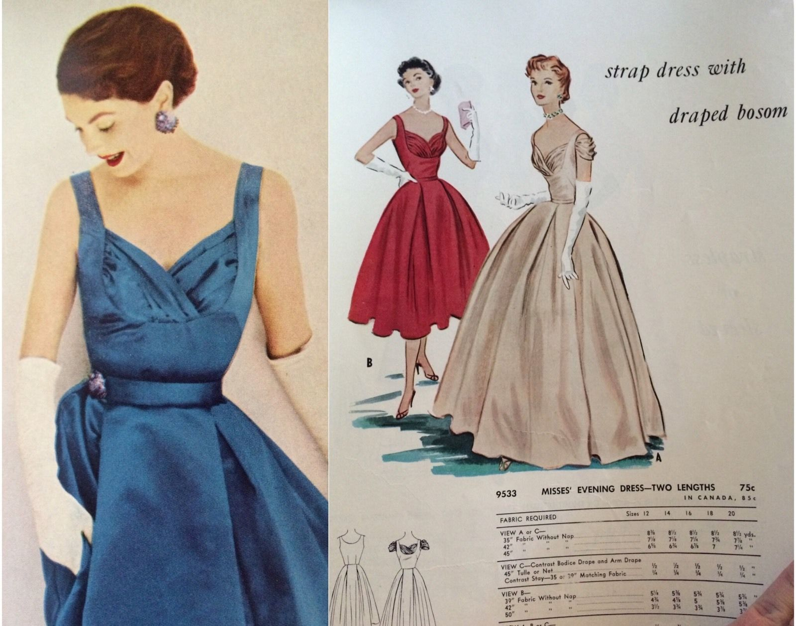 Vintage s mccallus pattern catalog book s fashion bonus