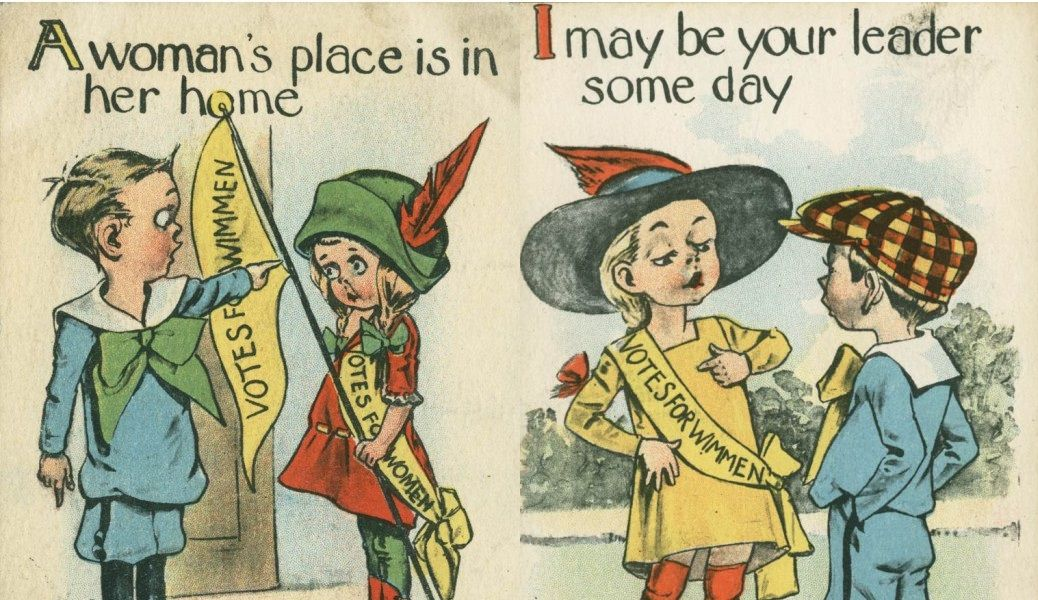 1900s Posters Against Women S Right To Vote Are Infuriatingly Anti Feminist Womens Rights Women Right To Vote Women