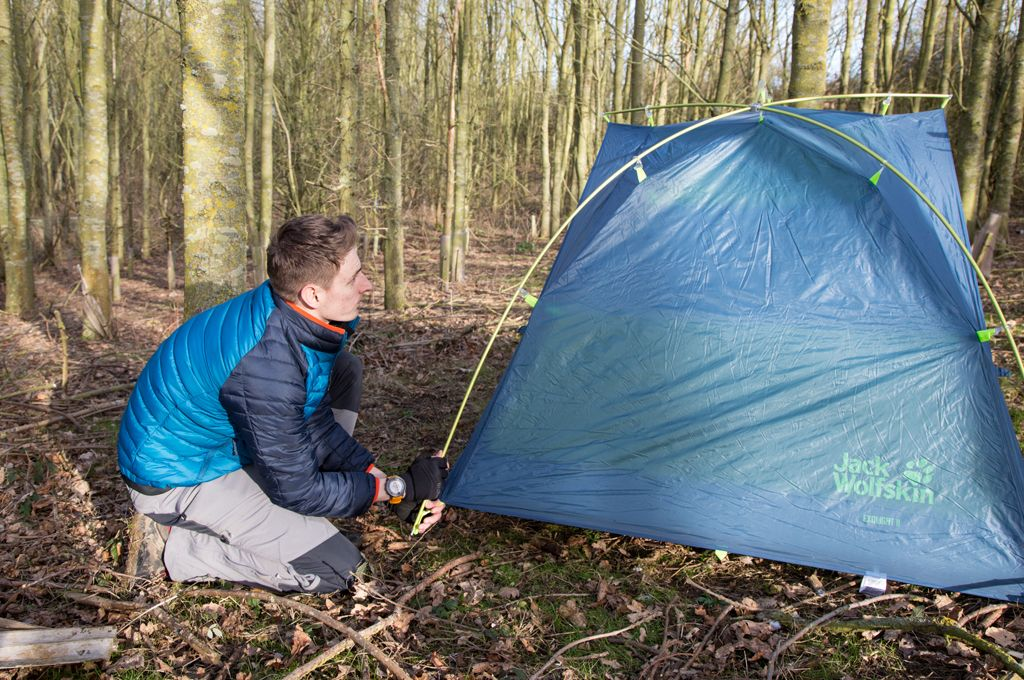 We review the Jack Wolfskin Exolight II Dome Tent. A quick