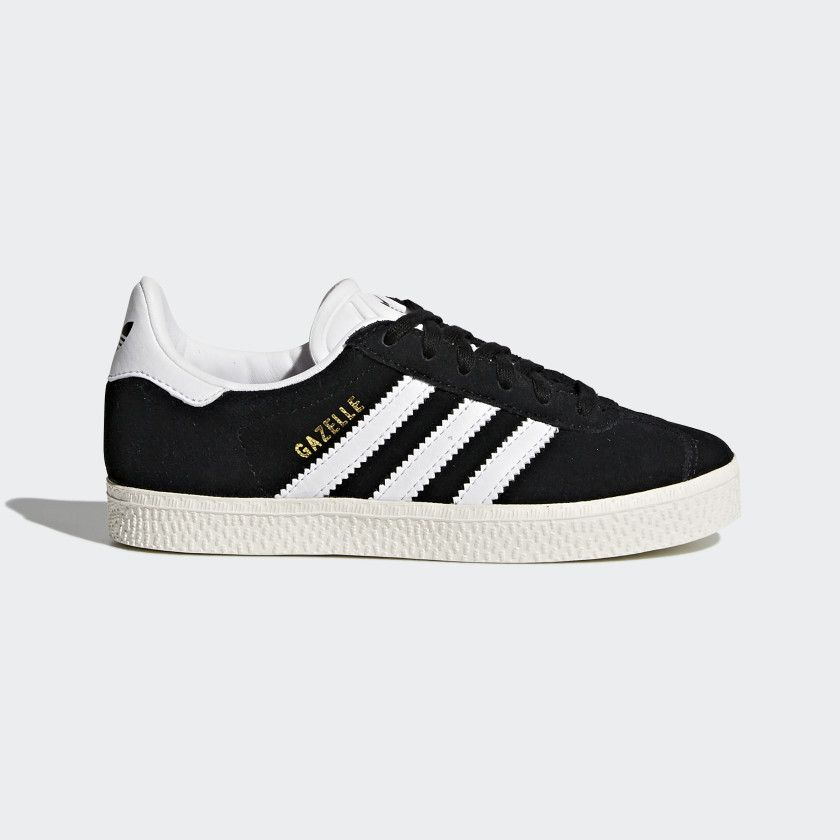 9e067a8e0ec4 Gazelle Shoes Core Black / Cloud White / Gold Metallic BB2507