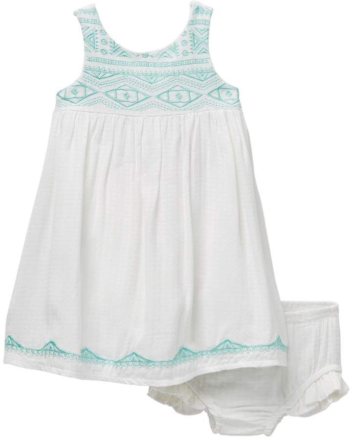 4c47c34a4d9d Jessica Simpson Embroidered Dress and Panty 2-Piece Set (Baby Girls 12-24M)