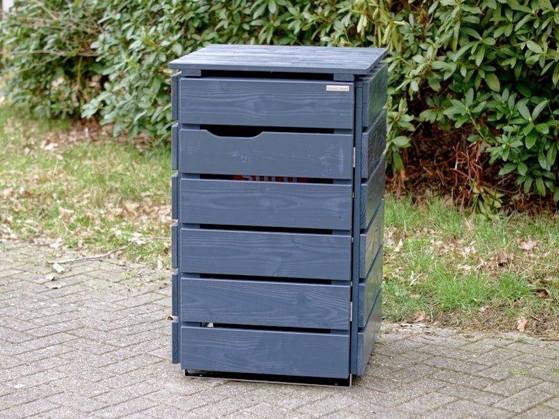 1er mülltonnenbox holz 240 liter | 1er mülltonnenbox,