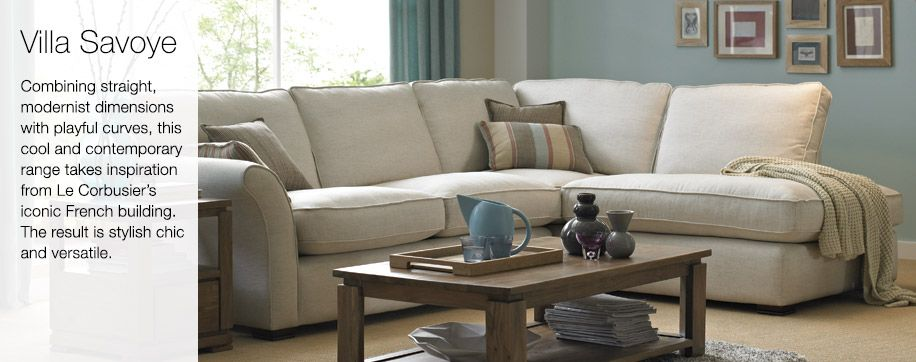 Villa savoye dfs sofa available in lots of different colours