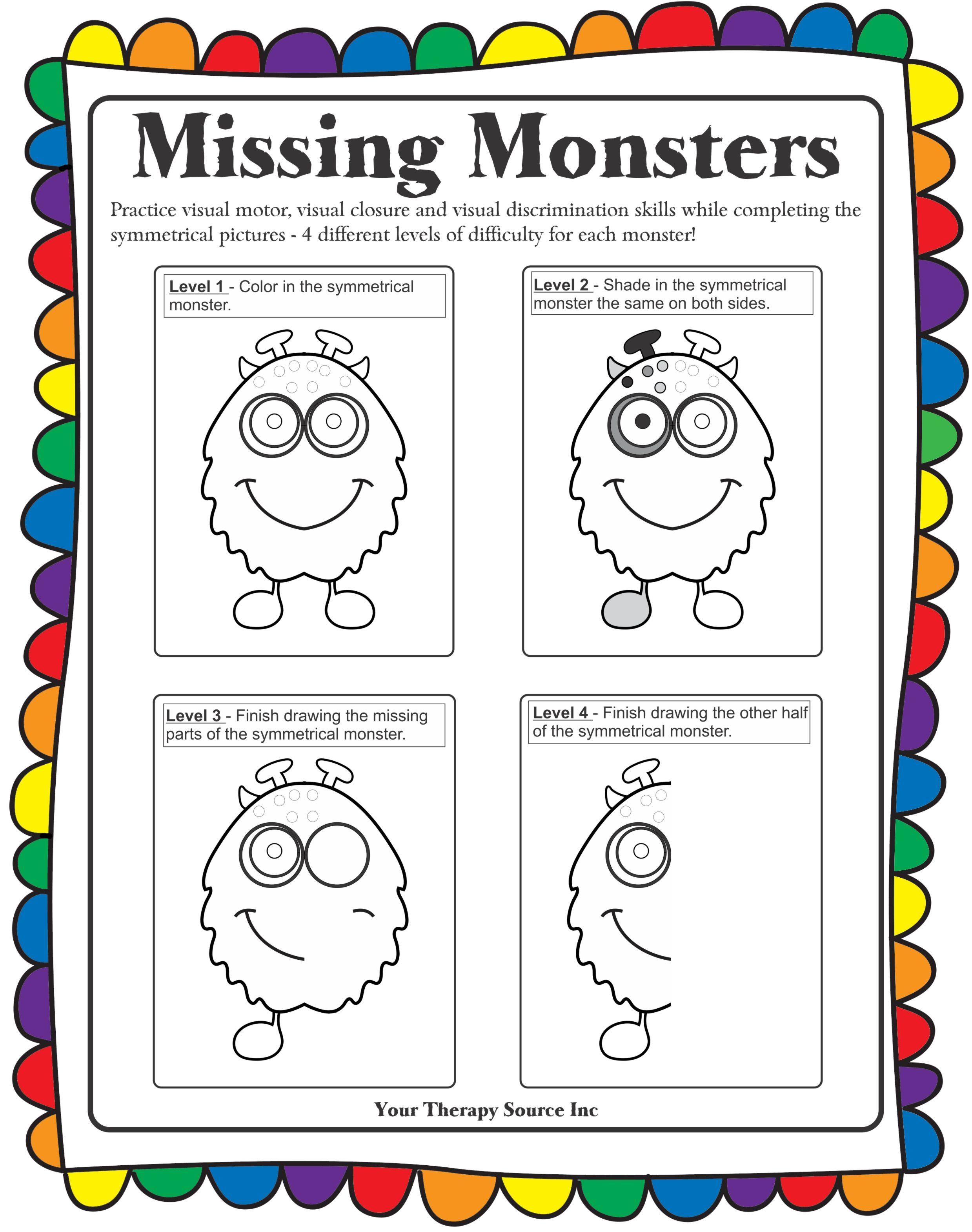 Missing Monsters