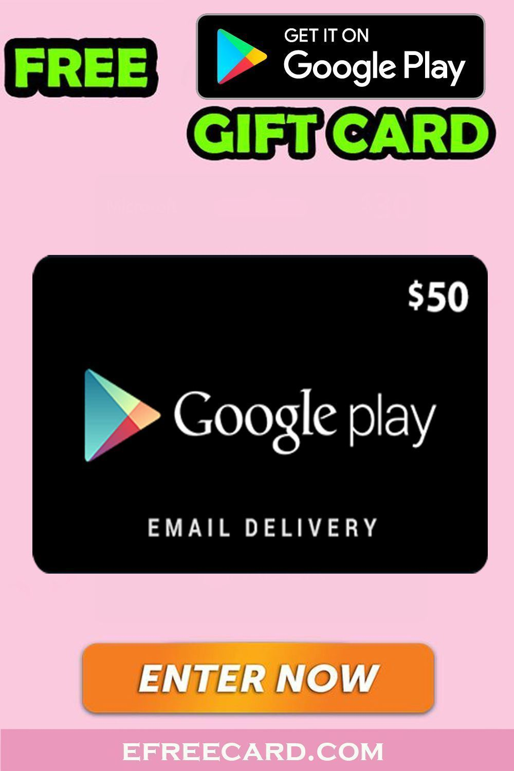 How To Get Redeem Code For Play Store Win Playstore Gift Card Free Get Amazon Gift Card Free Free Gift Card Generator Gift Card