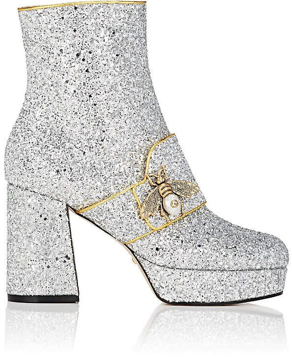 06e159dd2595 Gucci Women s Soko Glitter Platform Ankle Boots  Gucci  boots  ShopStyle   MyShopStyle click link for more information