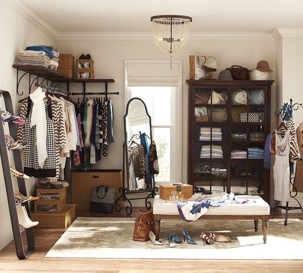 Convert Bedroom To Closet Awesome Love This Room Turned Into A Closet  Closet Ideas  Pinterest Inspiration Design