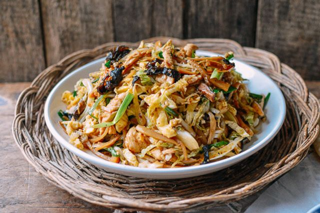 moo shu chicken  best chinese dishes low carb chinese