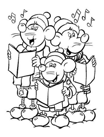 Christmas Coloring Pages 1 | Special Days - Christmas Fun ...