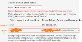 Cara Setting Custom Domain Niagahoster Ke Blogspot Tips Blogging Youtube Instagram
