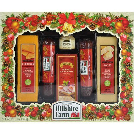 Hillshire Farm Holiday Sausage Cheese Assortment 6 Pc Hillshire Farm Farm Holidays Cheese Gift Baskets