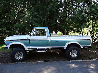 1977 Ford 4x4 1977 Ford F 250 4x4 Highboy New 460 Motor With