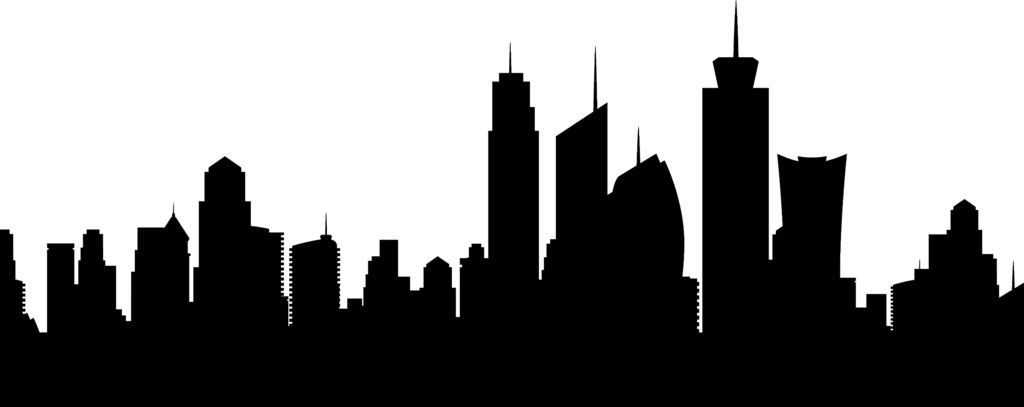 Cityscape Lampshade And Paint Can Light Art City Skyline Silhouette Skyline Silhouette Building Silhouette