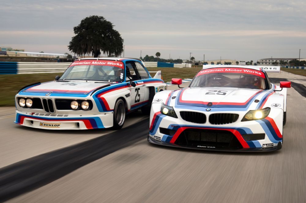 Bmw Unveils Historic Livery For Sebring Bound Z4 Gtlm Racers Bmw