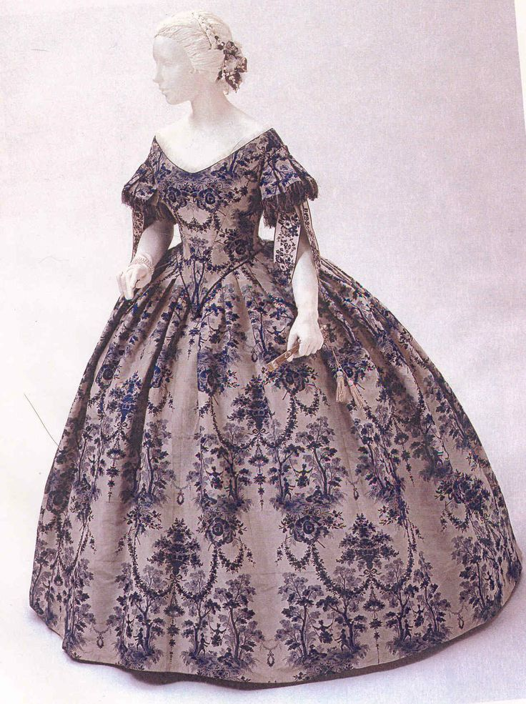 19th Century Ball Gown Historical Dresses Historical Fashion Victorian Vintage Gowns