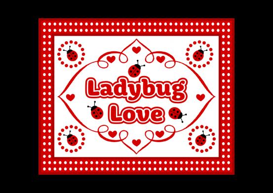 Free Printable Ladybug Sign