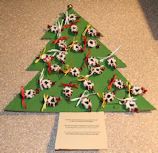 Poem About A Christmas Tree: Advent Candy Tree And Poem