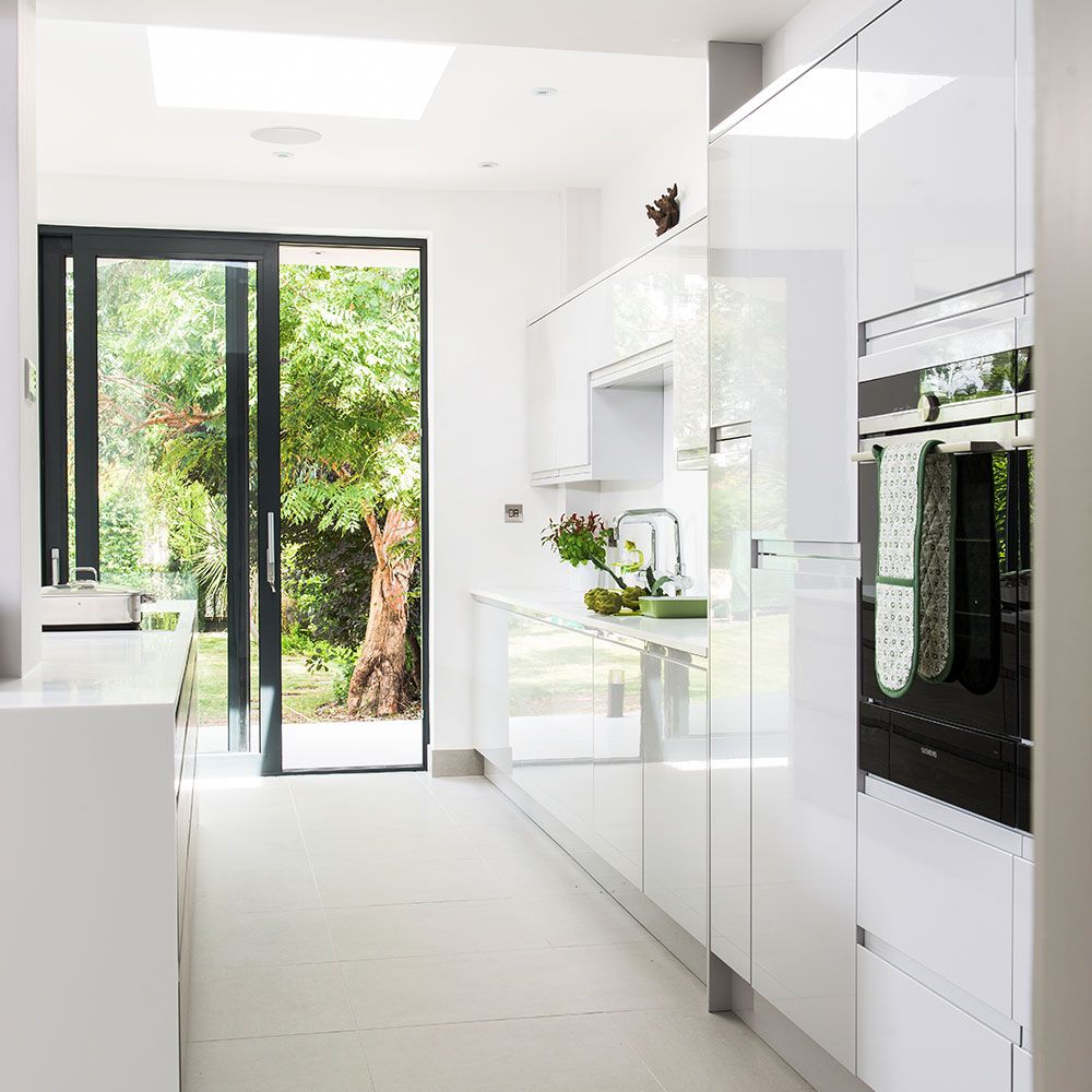 Before and after: from separate rooms to huge open-plan kitchen ...