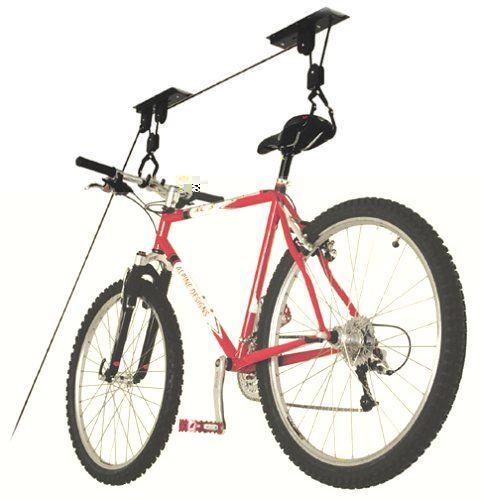 Up And Away A G40025 Ceiling Mount Bike Lift Bicycle Garage Bike Lift Bicycle Storage Rack