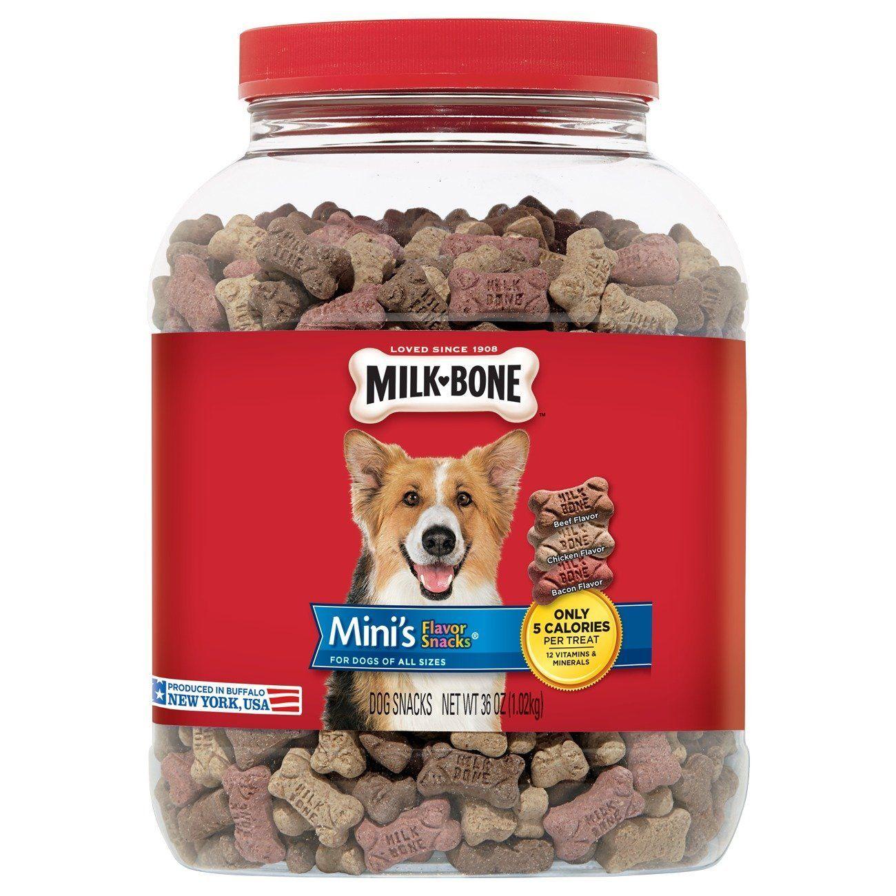 Amazon.com : Milk-Bone Mini Flavor Snacks Dog Treats, 36 oz : Pet Supplies