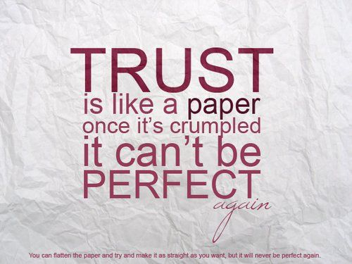 Trust is all you need