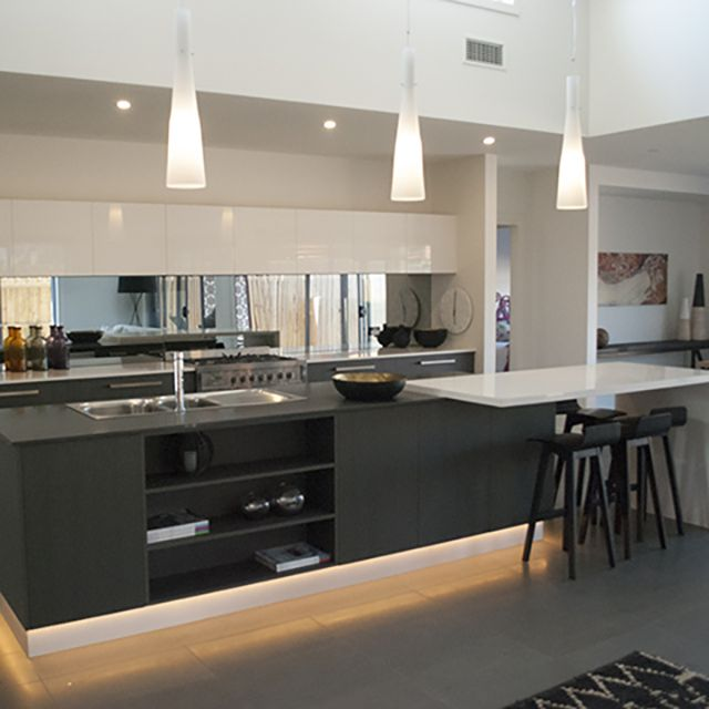Fabulous Kitchen Designindependent Builders Network Geelong Interesting Kitchen Designs With High Ceilings Design Ideas