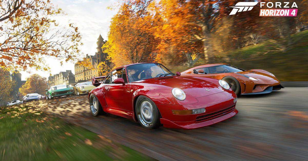 Forza Horizon 4 Throws Mud At Celebrities In Seasons Simulator