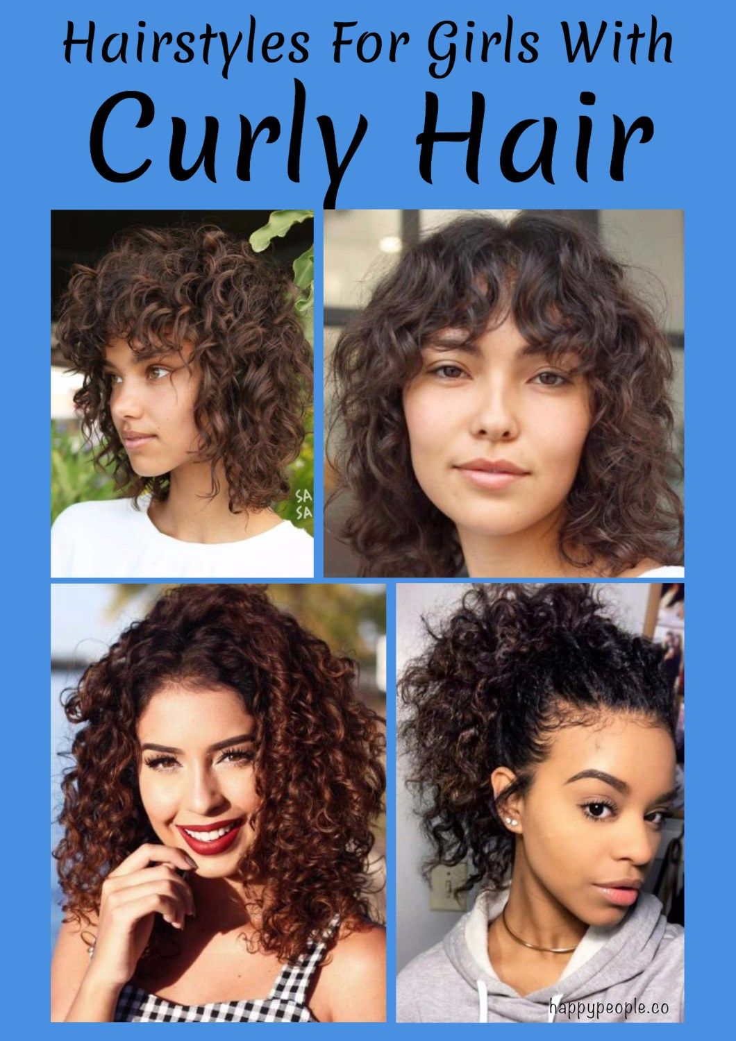 21 hairstyles for girls with curly hair | thikk hair | curly