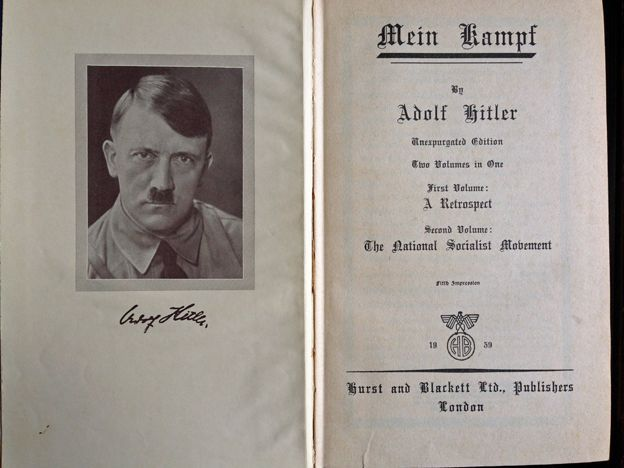 a brief of adolf hitlers popular book mein kampf Mein kampf by adolf hitler,  popular features  the pamphlet became a book settling accounts became mein kampf, an unparalleled example of muddled economics .