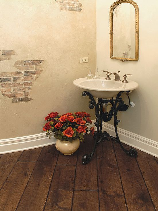 Traditional Spaces Hand Scraped Flooring Design, Pictures, Remodel, Decor and Ideas