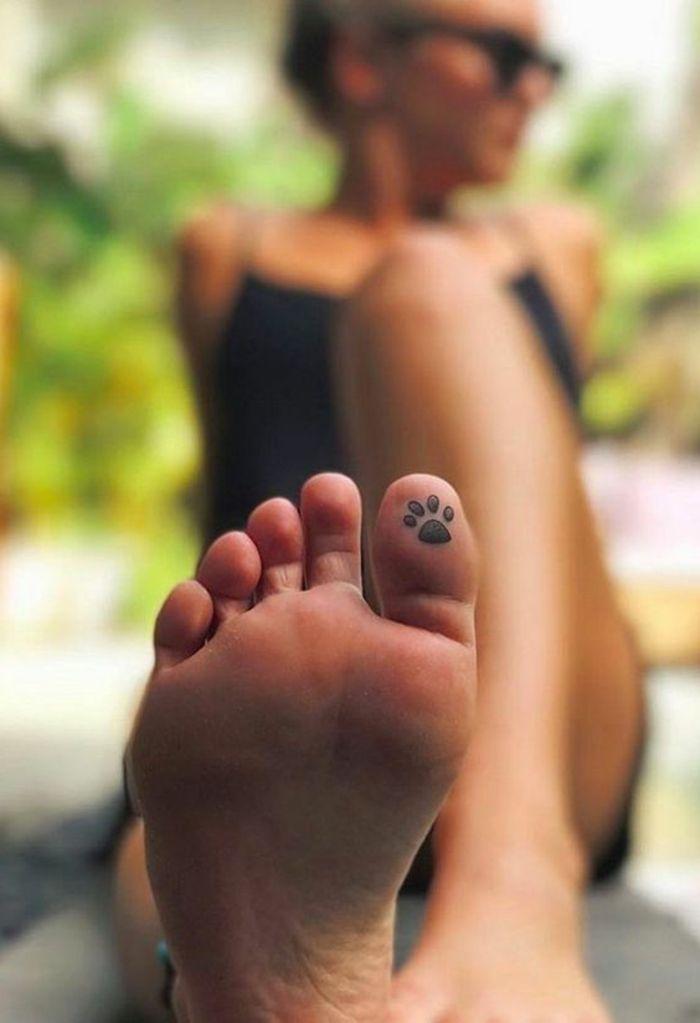 ▷ 1001 + variantes originales du tatouage patte de chat