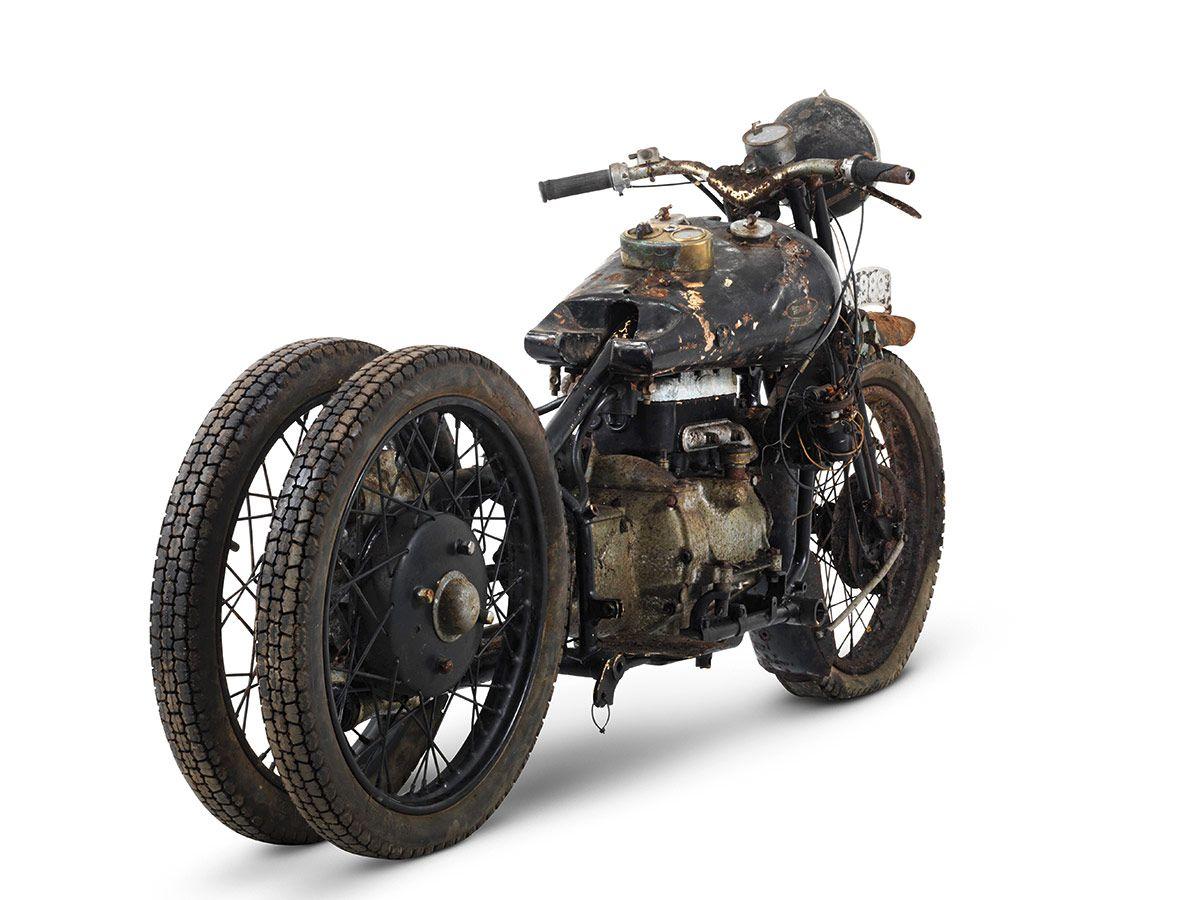 Barn Find Unearths Rare British Motorcycle Treasures