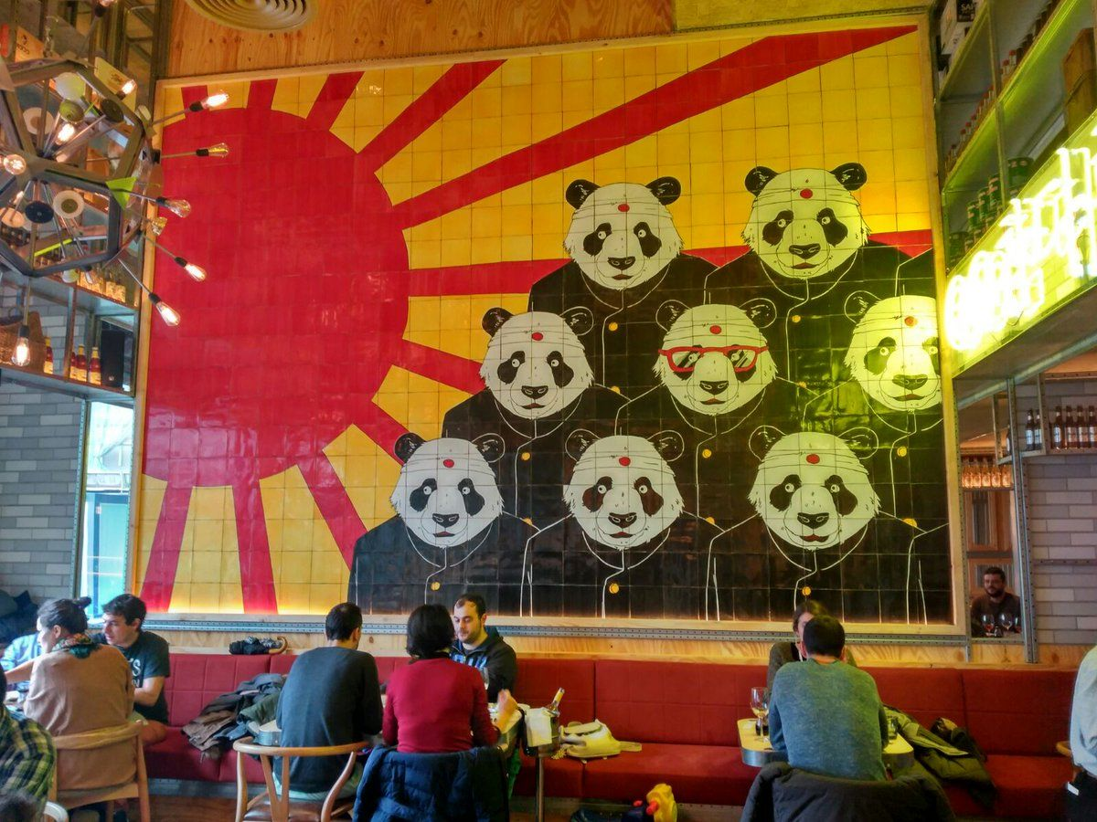 En Pandarestaurant Proyecto De L Zaro Rosa Violan Degustar S  # Muebles Lazaro Zaragoza