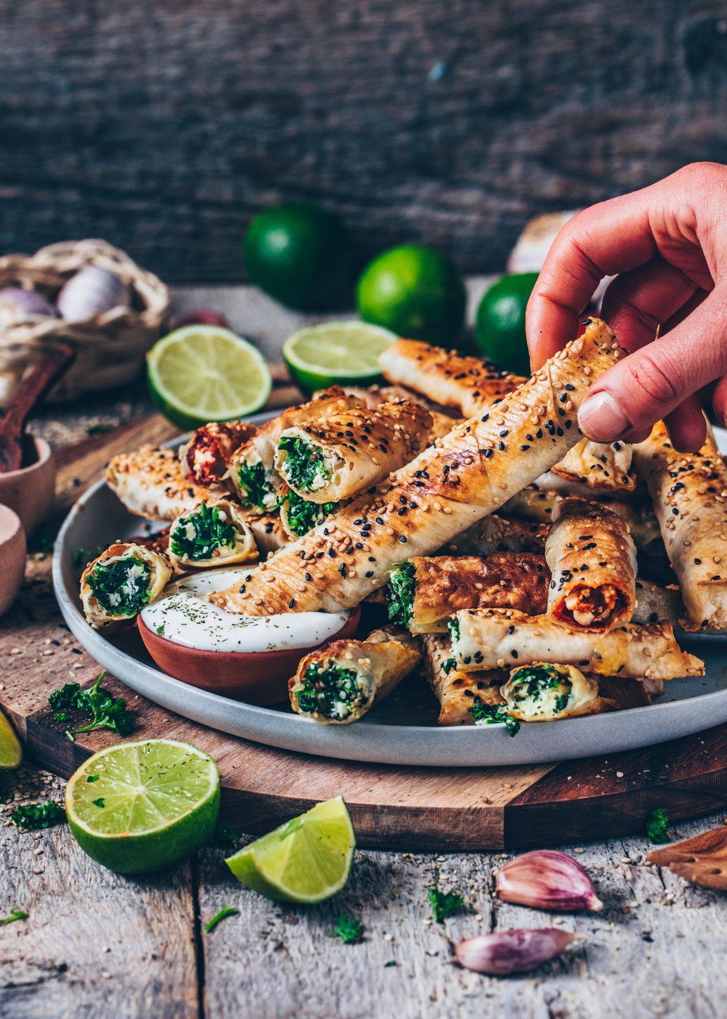 Photo of Börek with spinach and feta (vegan recipe) – Bianca Zapatka | Recipes