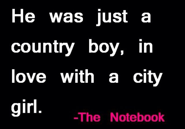 He Was Just A Country Boy In Love With A City Girl