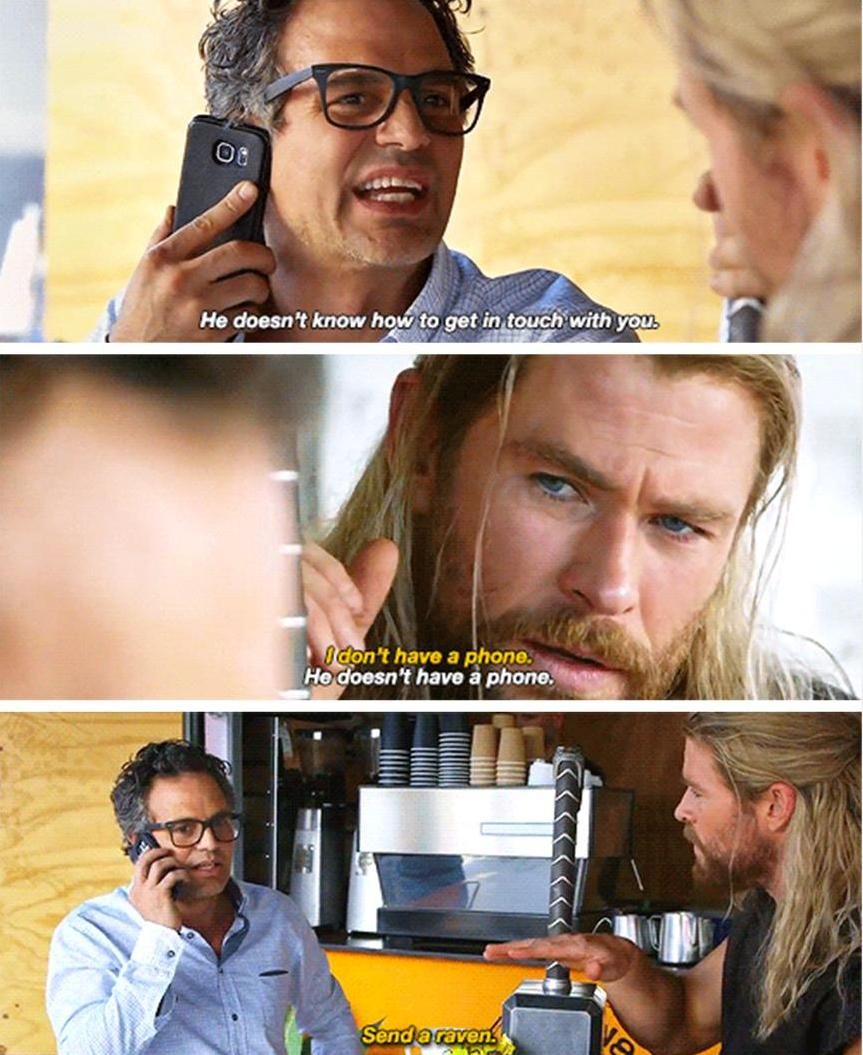 This short (about what Thor was doing during Civil War) was hilarious!!!!