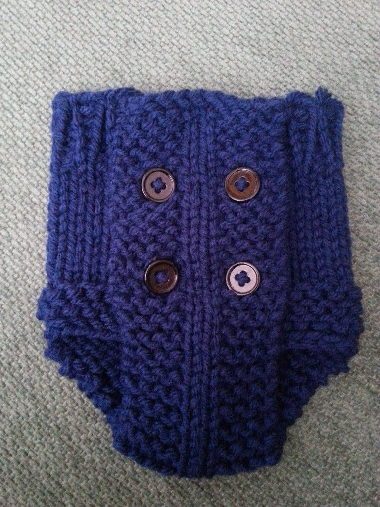 Loom Knit Diaper Cover