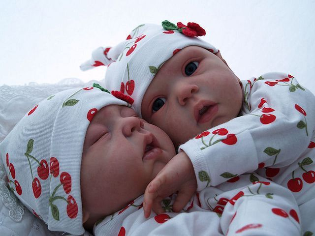 These babies almost look like dolls they r so perfect