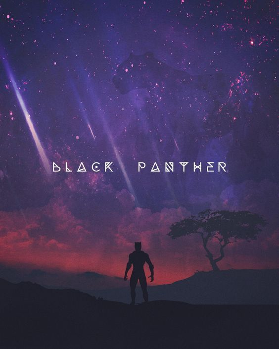 I had to do another poster after seeing Black Panther. Enjoy!